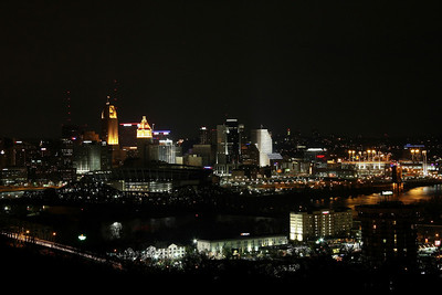 Cincinnati Wide Angle View