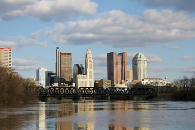 Columbus City Skyline