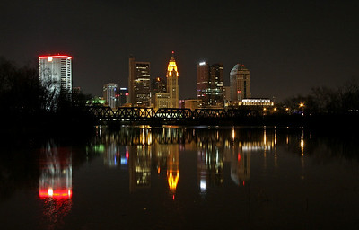 Columbus in the Evening