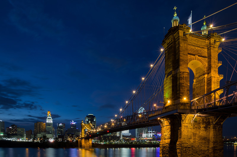 """Roebling Blues"" Cincinnati, Ohio"