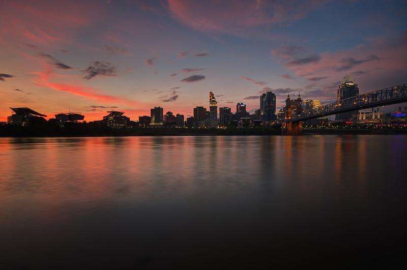 """Queen City Hues"" Cincinnati, Ohio"