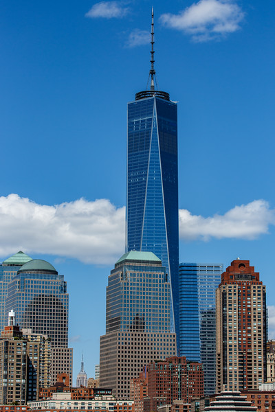 Freedom Tower on a Summer Day