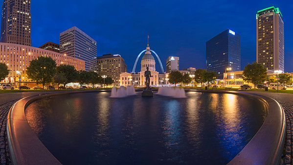 St. Louis Kiener Plaza - Panoramic