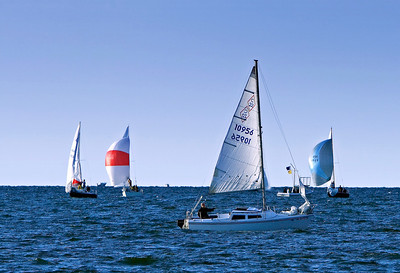 Sailing at Edgewater Park