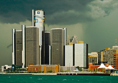 """""""Renaissance Storm,"""" Detroit, 2008."""