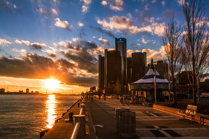 Detroit Sunset