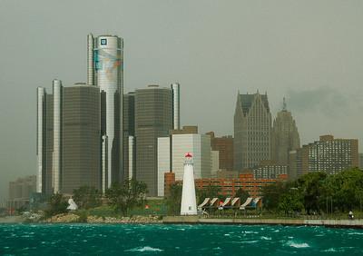 """Summer Storm,"" Detroit, 2008."
