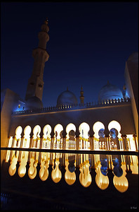 Reflection, Sheikh Zayed Grand Mosque, Abu Dhabi