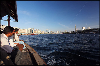 Water Taxi on the Dubai Creek