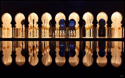 Reflection, Sheikh Zayed Grand Mosque, Abu Dhabi