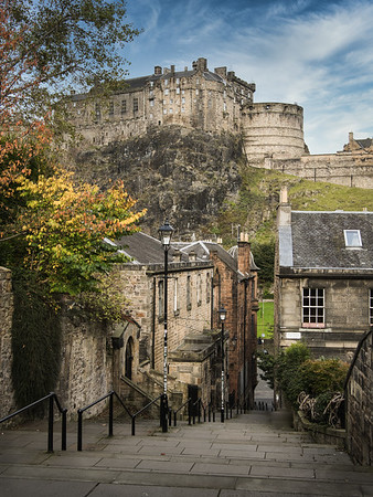 The Vennel and Castle