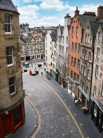 West Bow from Victoria Terrace