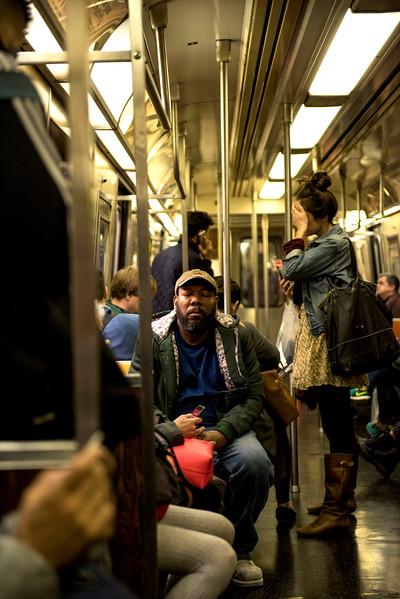 Subway Riders NYC