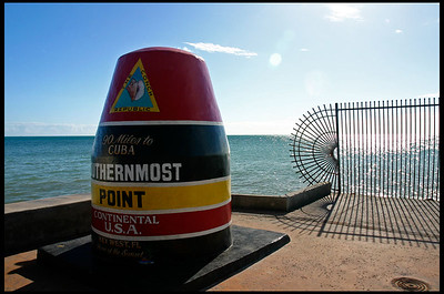 Southernmost point of lower 48 states