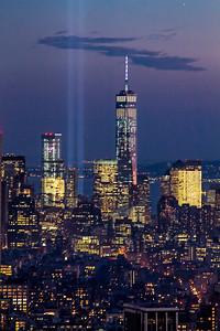 911 WTC n Lights NYC