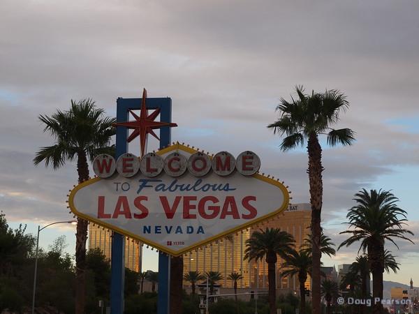 Las Vegas Sign, Las Vegas, NV