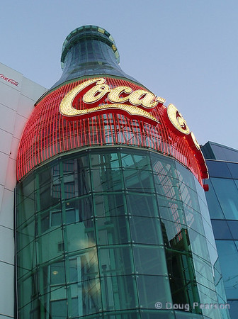 Coke building in Las Vegas.