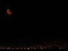 Moon Rise in Las Vegas