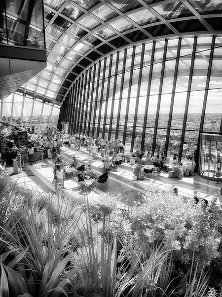 London - Unseen Light III - Sky Garden