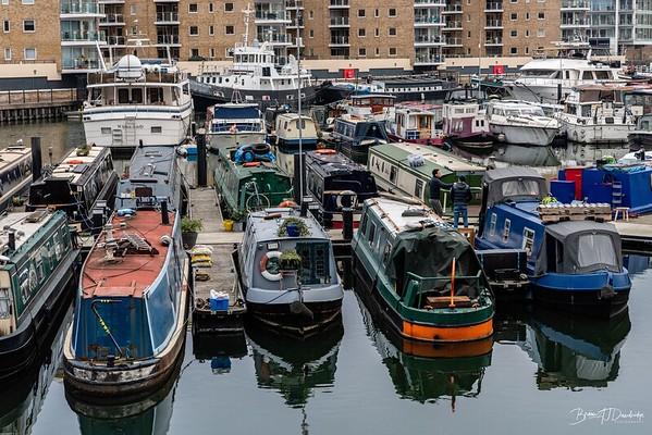 Boats a-plenty in Limehouse Marina