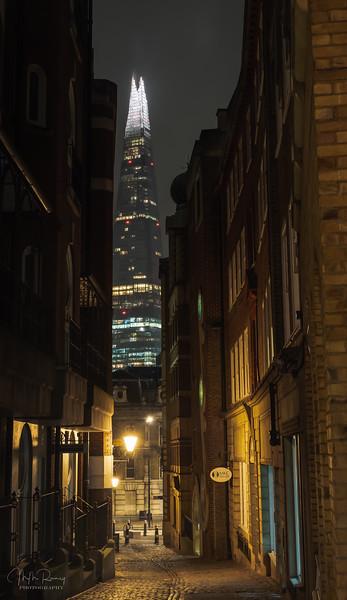 Lovat Lane by night