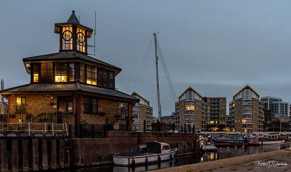Winter light on Limehouse