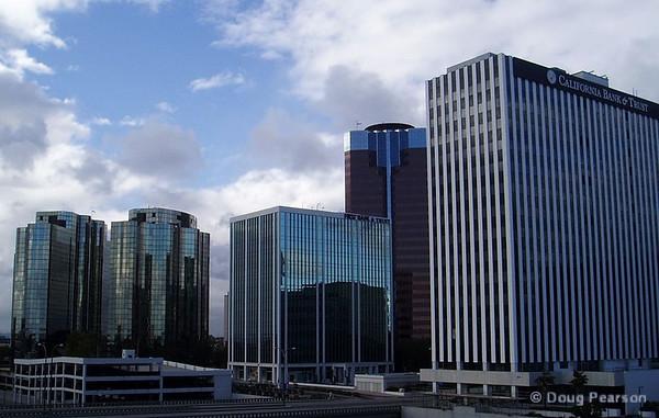 Buildings in Downtown Long Beach