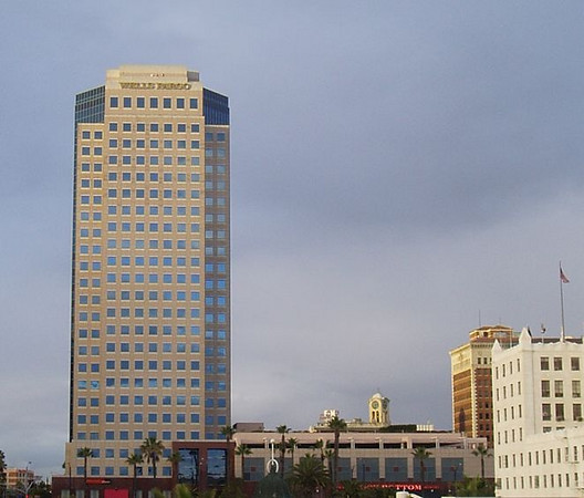 A view of Downtown Long Beach
