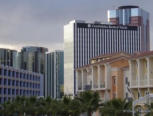 Downtown Long Beach buildings