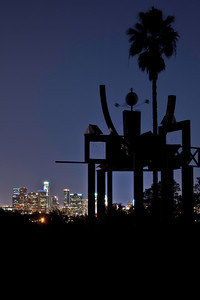 """City Lights"" - Los Angeles from Angels Point, Elysian Park, California"