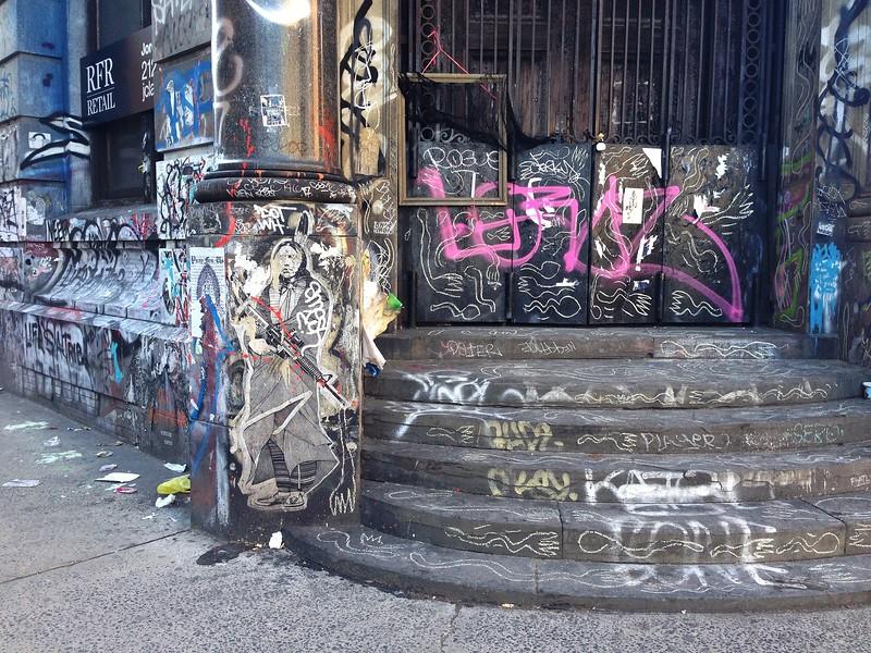 190 Bowery Graffiti - Color
