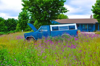 """Leroy's Truck,"" Brooks Hill, Charlevoix, MI, 2011."