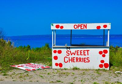 """Sweet Cherries,"" Petoskey, MI, 2013."