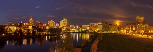 Milwaukee Skyline - A Contrast in Time