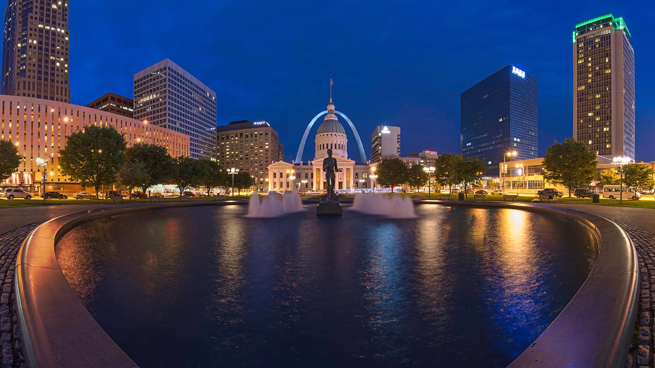 St. Louis Kiener Plaza - Panoramic