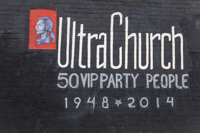 """Ultra Church: 50 VIP Party People - 1948-2014"" by Butter Land Studio"