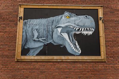 Dino Painting