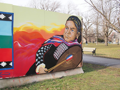 Allan Gardens Temporary Art Project By Aboriginal Artists