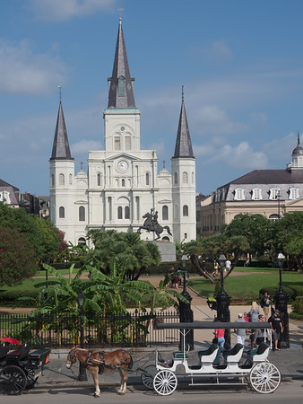 Jackson Square & St Louis Cathedral