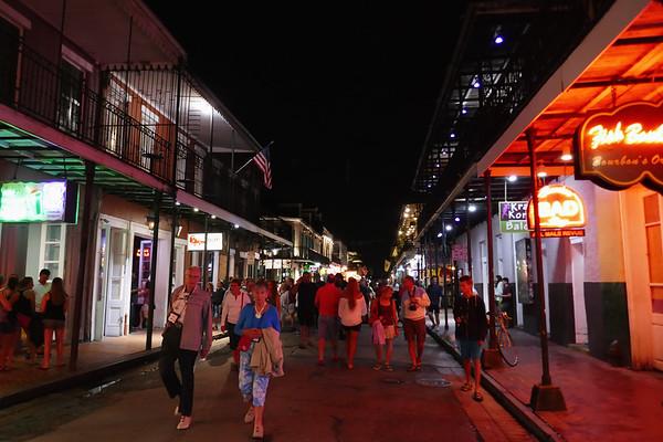 Bourbon street, home of jazz