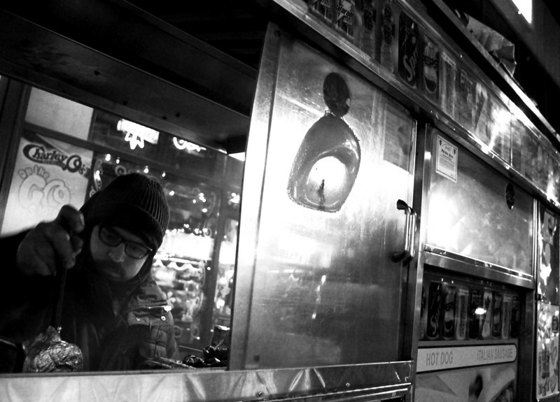 Street Vendor near Time Square