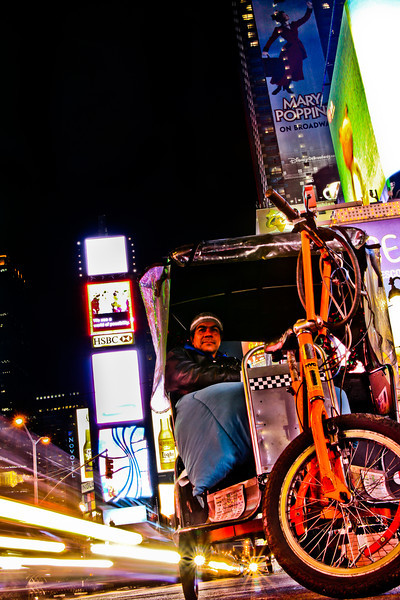 Bike Cab, Times Square