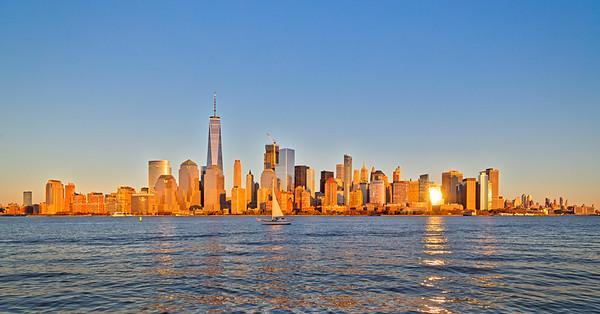 Sunset Sailing on the Hudson