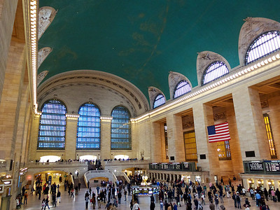 Grand Central Station, au coeur de Manhattan.