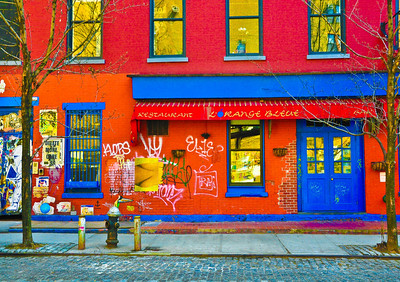 """L'Orange Bleue's Urban Facelift And Makeover,"" New York City, 2012."