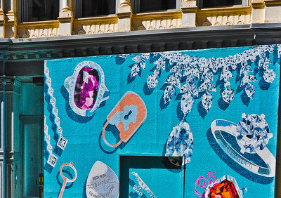 """Diamonds On Greene,"" Soho, New York City, 2012."
