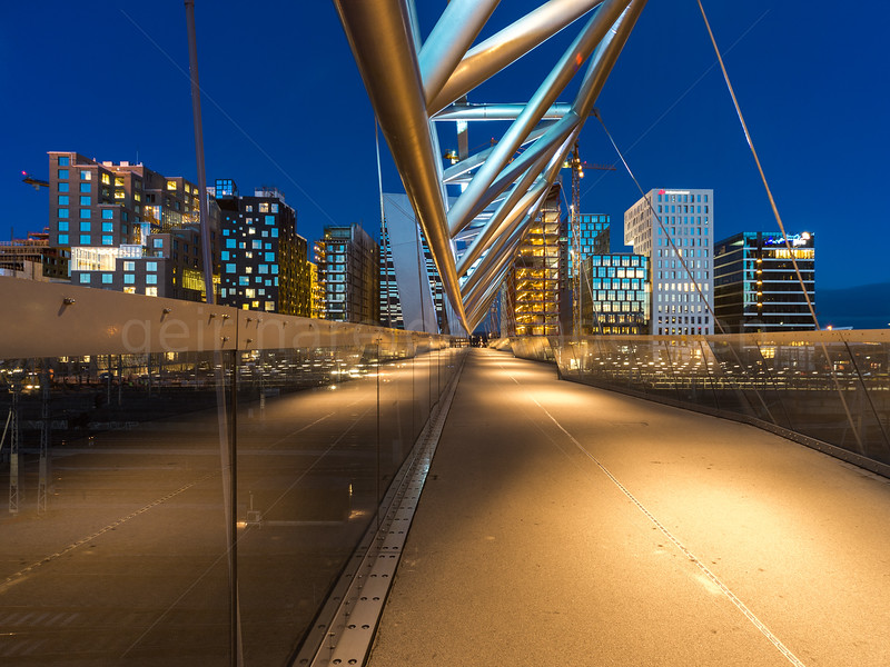 Cityscapes from Oslo by night