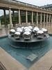 A water sculpture at Jardin du Palais Royal