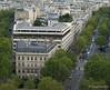 Paris from Arch de Triumph