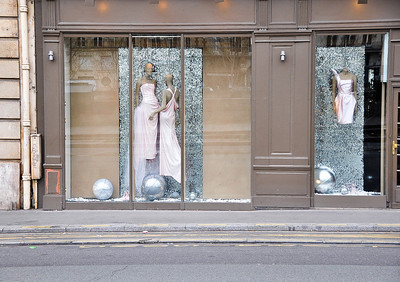 """Floating Couture,"" Paris, 2011."